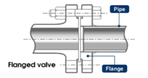 Flanged end connection
