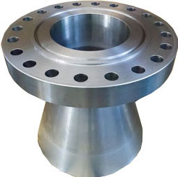 Special flanges: type expanding flange (or expander flange) to increase the bore of the pipeline