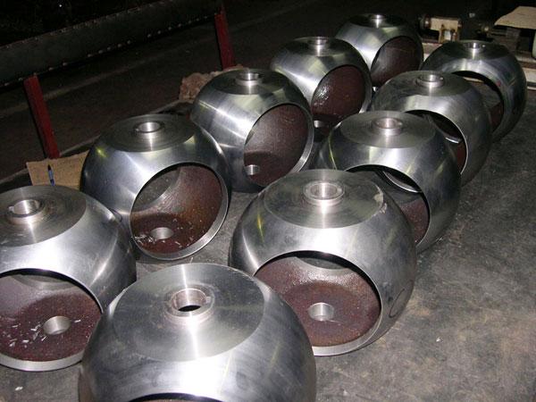 ball valve sphere