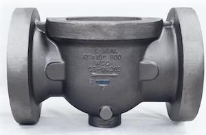 Cast valve body