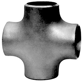 pipe cross double branch fitting