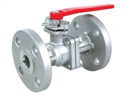 Flanged end valve