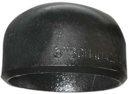 buttweld pipe cap asme b36.19