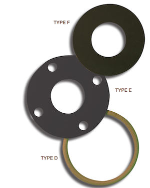 Type D flange isolation kit