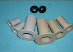 Insulation sleeves for flange insulation kits