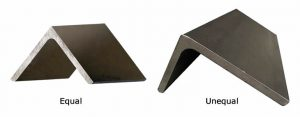 steel angles dimensions