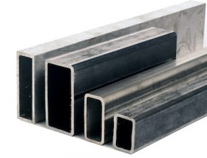 Round and squared HSS steel profiles